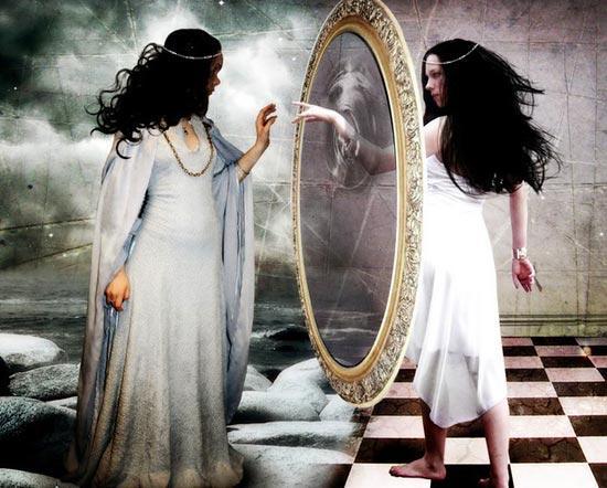 Что нельзя говорить перед зеркалом?